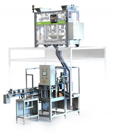 SEED COUNTING AND PACKAGING MACHINE S-460